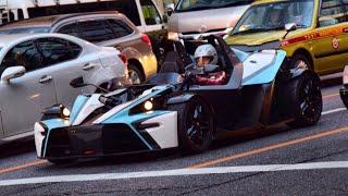 【東京】ゾンダ他 スーパーカー加速サウンド Supercars in Tokyo. Zonda F, XBOW, 812, AMGGTR and more