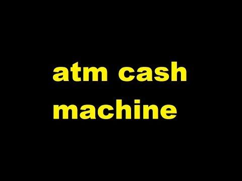 atm cash machine Sound Effect