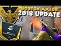 CS:GO MAJOR 2018 UPDATE - New Shotgun Spray Pattern, Pick'Em Challenge & Series 3 Pins!