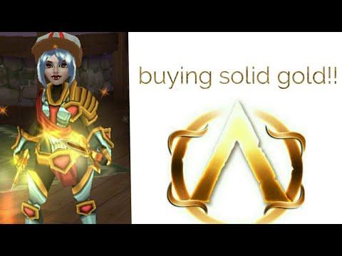  Arcane Legends  Buying Solid Gold Vanity!🔥