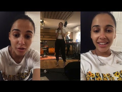 Naomi Scott | Instagram Live Stream | 17 May 2018