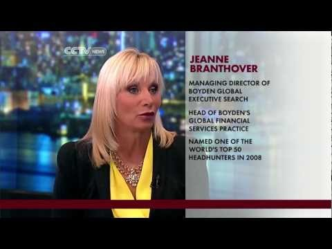 Jeanne Branthover Discusses Executive Searches on Wall Street