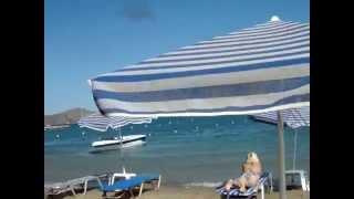 Пляж в Элунде/beach of Elounda(Видео для блога: http://sergiisolodkyi.blogspot.com/, 2014-07-10T11:32:24.000Z)