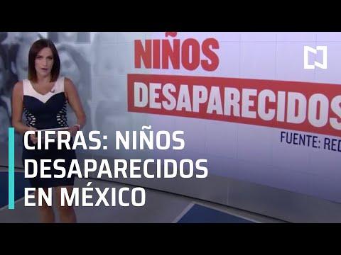 Cifras de niños desaparecidos en México - Despierta
