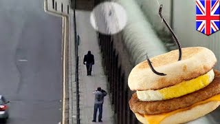 Prison smuggling: UK man uses fishing line to sneak drugs and McMuffins into prison - TomoNews