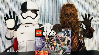 Star Wars Chewbacca and Storm Trooper Fire Rescue!