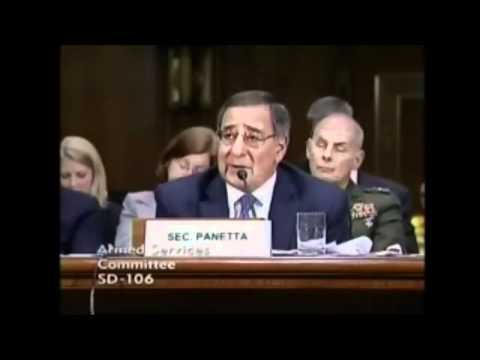 Sec. Panetta Commits Treason and Tells Congress U.S. Military Takes Orders from U.N. 3/9/12