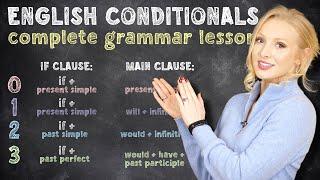 THE CONDITIONALS - 0,1,2 & 3 Conditionals& QUIZ - English Grammar Lesson