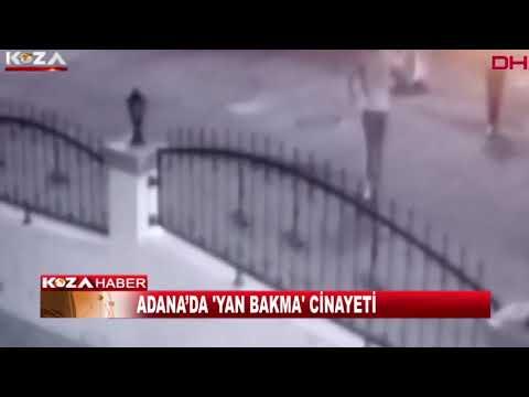 ADANA'DA 'YAN BAKMA' CİNAYETİ