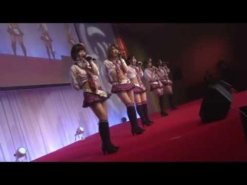 kmpカンファレンス2015・新生ミリオンガールズZのお披露目の様子