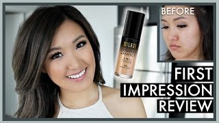 Milani Conceal + Perfect 2-in-1 Foundation | First Impression Review | ilikeweylie