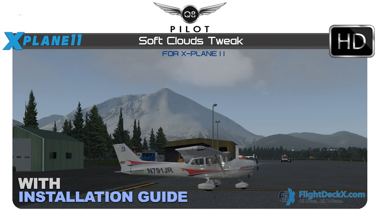 [X-Plane] Soft Clouds Art for X Plane 11 | With Installation Guide