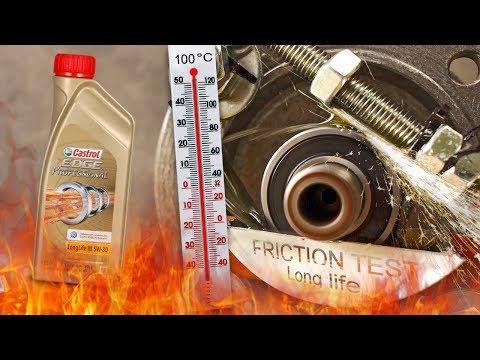 Castrol Edge Professional Longlife III 5W30 Jak skutecznie olej chroni silnik? 100°C