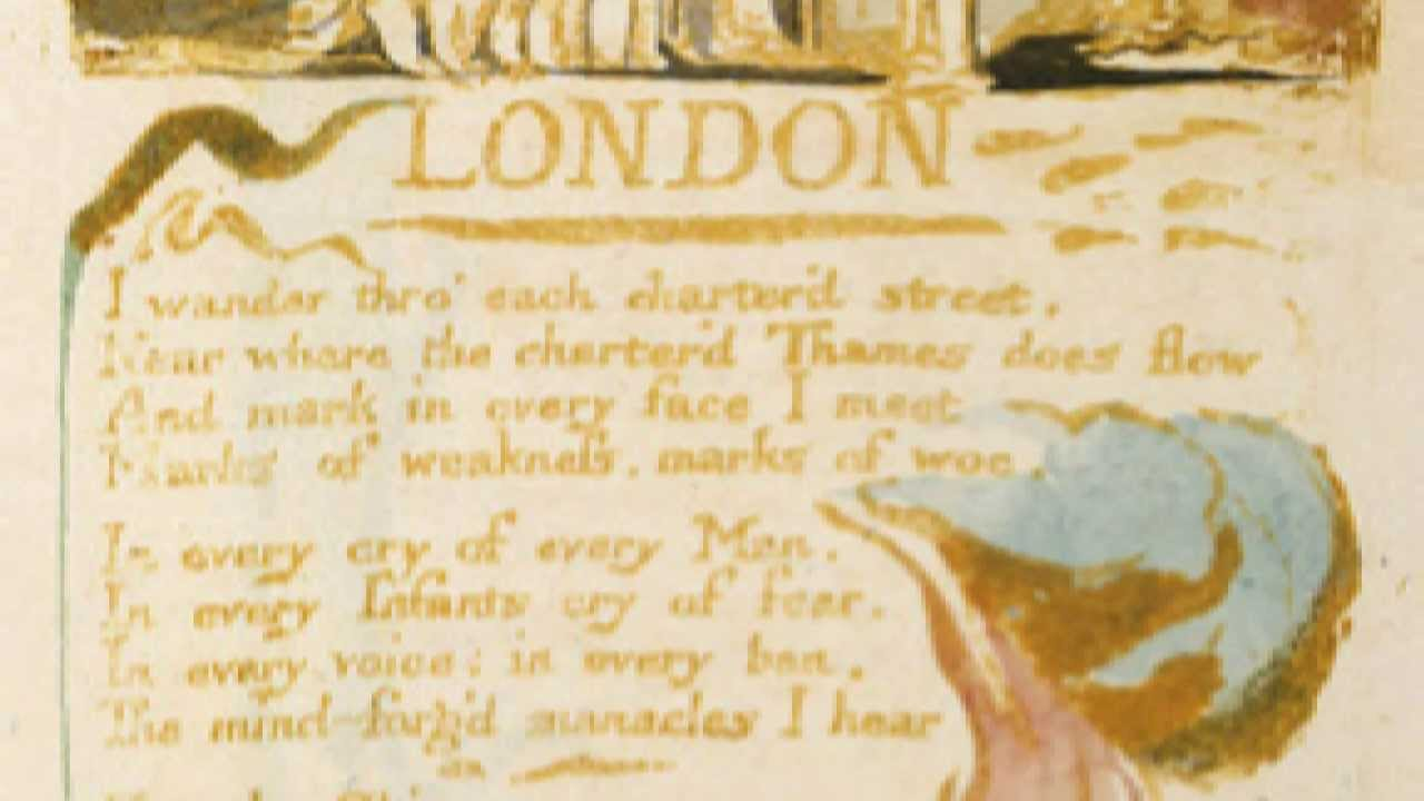 William Blake's 'London' -- performed and analysed. - YouTube
