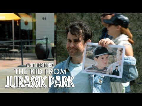 The Kid from Jurassic Park Whit Hertford