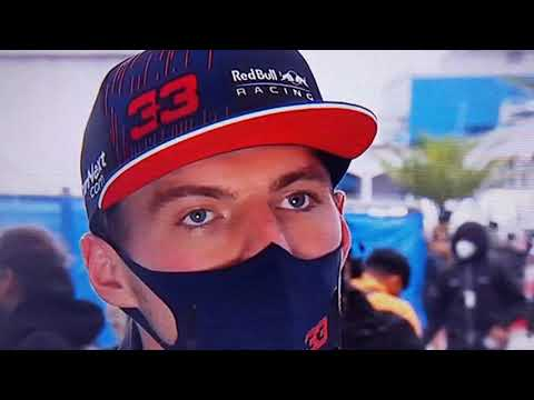 max VERSTAPPEN interview in dutch after F1 Race GP turkey
