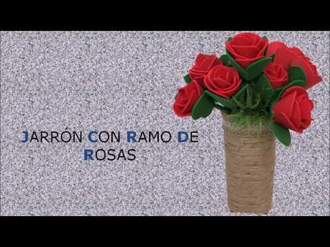 diy.-jarrón-con-ramo-de-rosas-de-goma-eva-paso-a-paso
