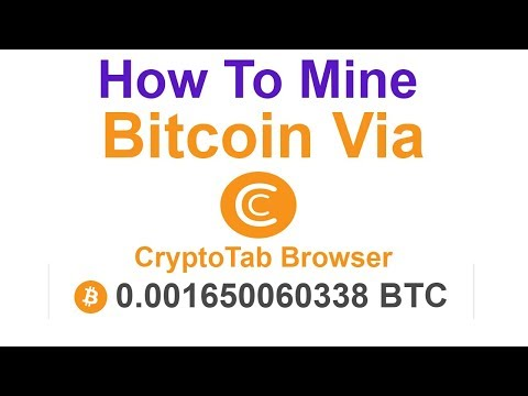 How To Mine Bitcoin - CryptoTab Browser - Low Minimum Withdraw - Urdu/Hindi