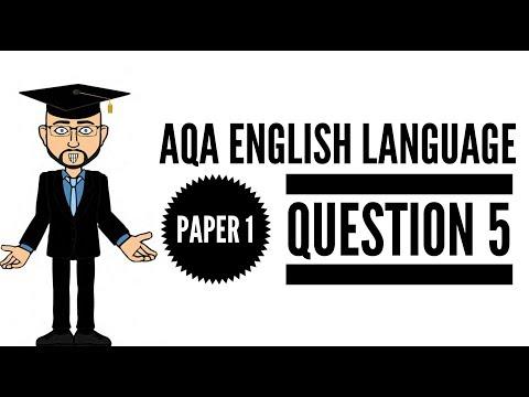 Extensive & Ambitious Vocabulary:  English Language Exam Question 5