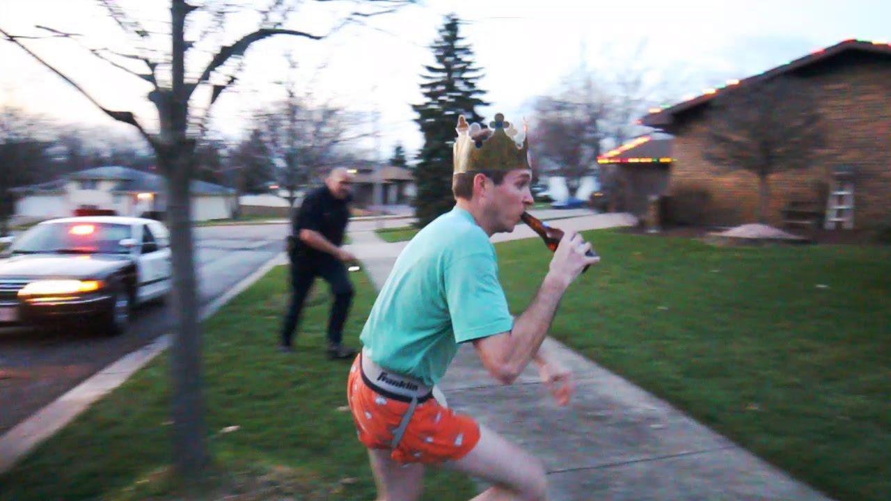 drunk guy tazed by police officer original youtube