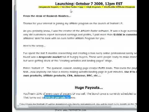 InstantLP  Review and Bonuses