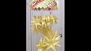 Paper Craft Chandelier PART 2