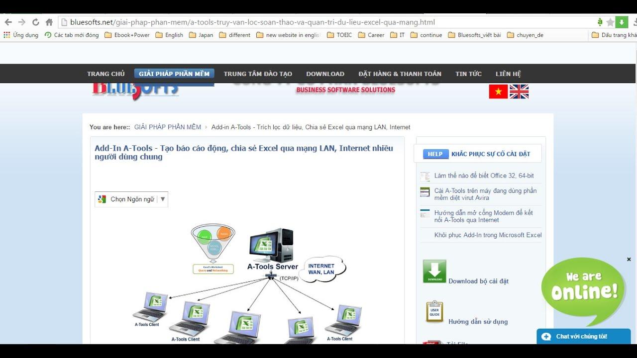 Khôi phục mất thanh công cụ Add-in A-Tools trong Microsofts Excel