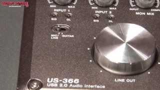 Musikmesse 2013 - TASCAM US-366 Audio Interface (deutsch)