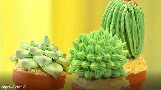 Les Cupcakes Cactus !