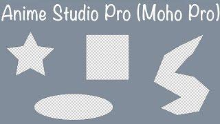 Anime Studio Pro (Moho Pro) - Как сделать отверстие любой формы в объекте, шейпе, слое или форме