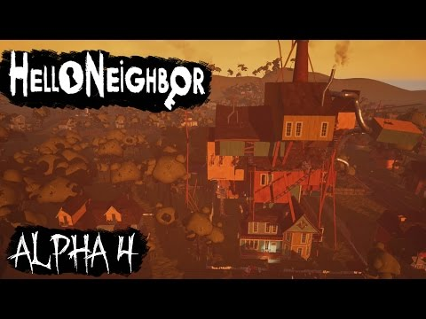 Hello, Neighbor Alpha 4 Walkthrough/Longplay (No Commentary) thumbnail