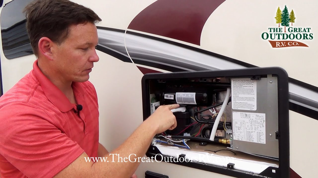 Expandable Travel Trailers >> RV Refrigerators: Tips & Troubleshooting - YouTube