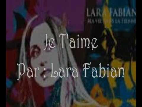Belajar Bahasa Prancis: Lagu Je T'aime Par Lara Fabian