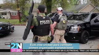 EU crea unidad para combatir crimen organizado