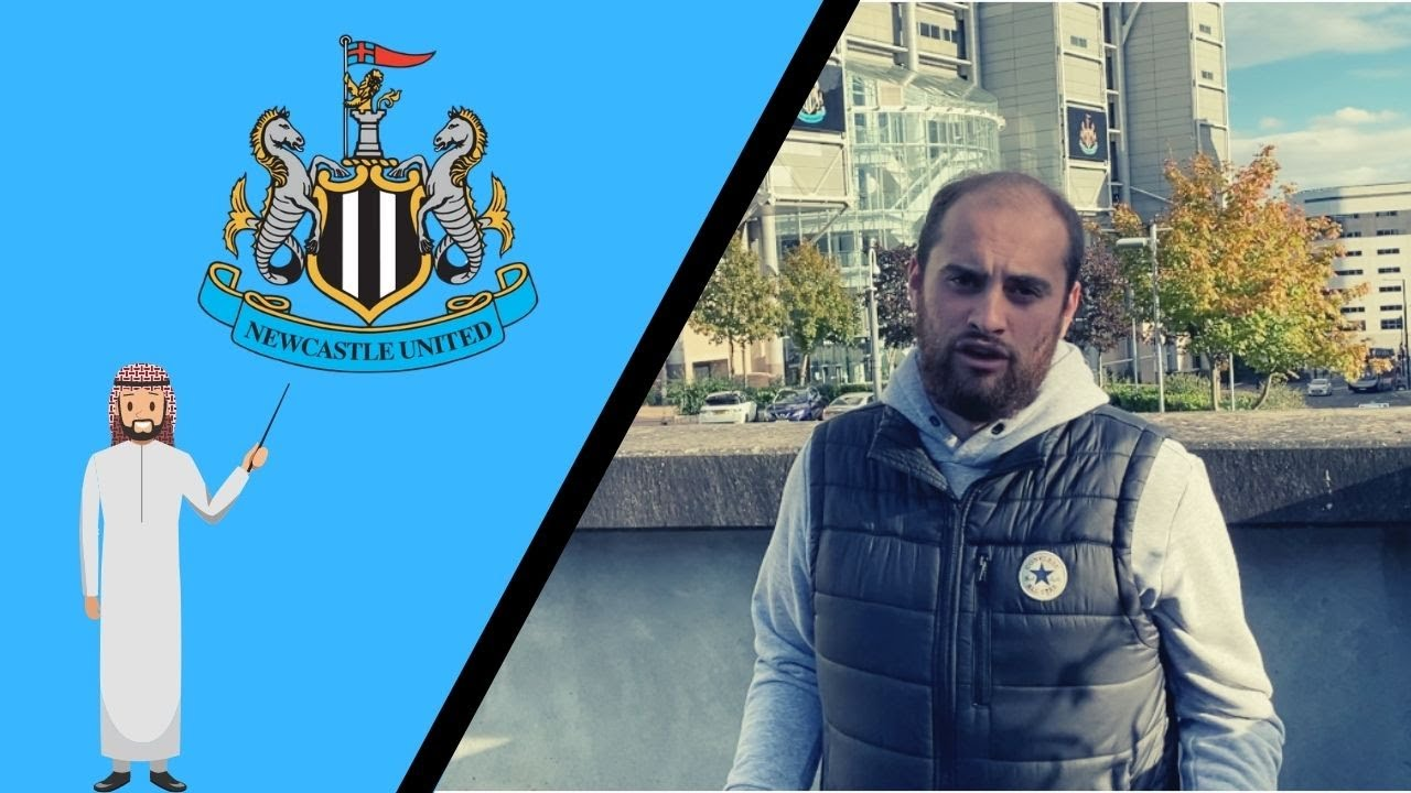 Takeover latest with Jonny outside of St. James' Park