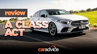 2019 Mercedes-Benz A-Class review: MBUX & Hey Mercedes demonstration