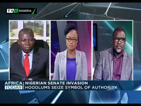 Africa Today on Nigerian Senate Invasion