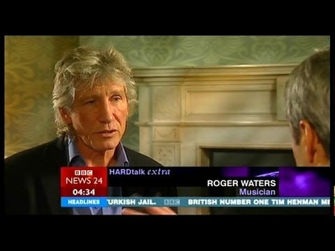 Roger Waters (Pink Floyd) Hard Talk Extra 2006 BBC interview