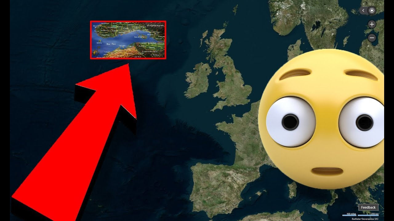 How Big is the Map of Daggerfall Compared to the Real World?   YouTube