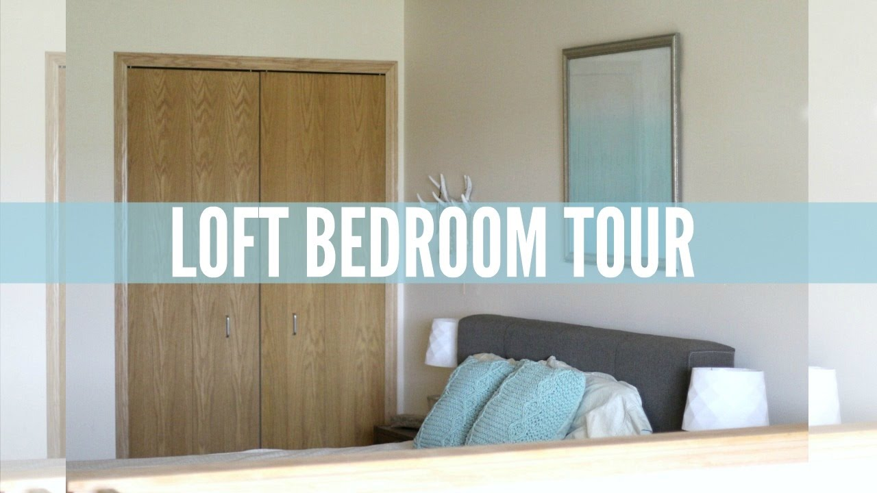 Minimalist loft bedroom tour youtube for Minimalist bedroom tour