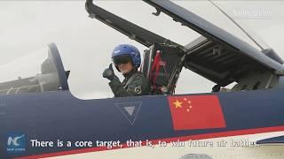 How China's J-10 flight jet pilot is made