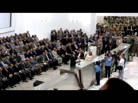 Governador Eduardo Campos no Templo Central