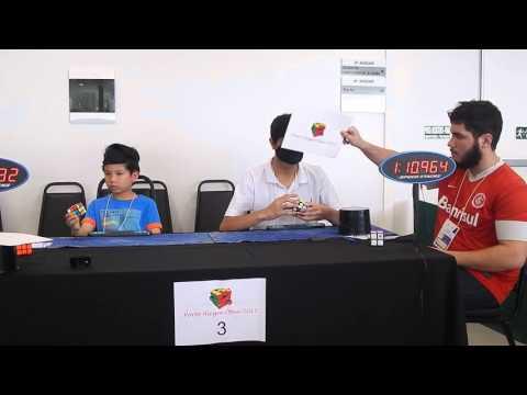 Allyson e Chan: 3x3 com os olhos vendados - Porto Alegre Open 2015