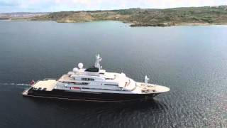 Octopus Superyacht in Ghadira Bay