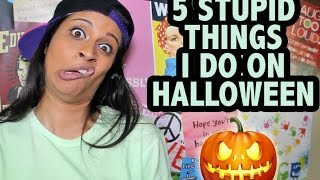 5 Stupid Things I Do On Halloween Thumbnail
