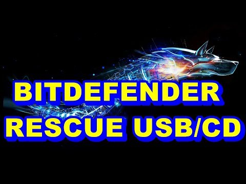 HOW TO CREATE & SCAN YOUR COMPUTER/LAPTOP WITH BITDEFENDER RESCUE CD?