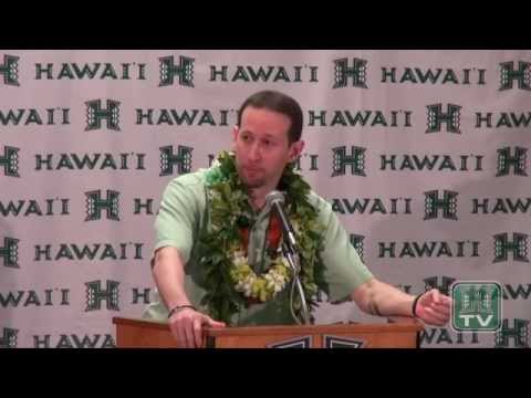 Press Conference - Eran Ganot Named Hawaii Men