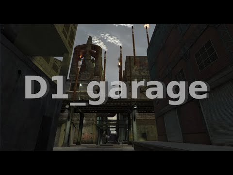 Half-Life 2 Beta: d1_garage maps (2002)