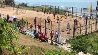 Пляжний гандбол Луцьк- Нововолинськ 1 тайм