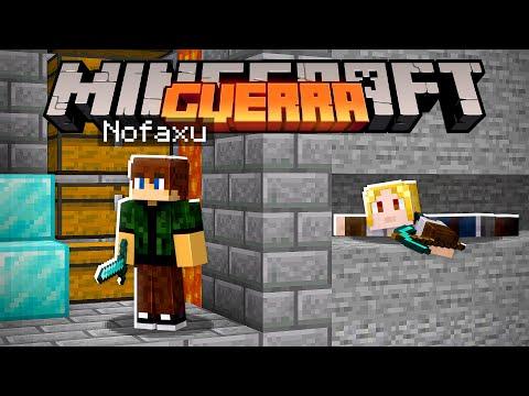 NOVO MÉTODO PARA INVADIR A BASE DO NOFAXU! - MINECRAFT GUERRA #29